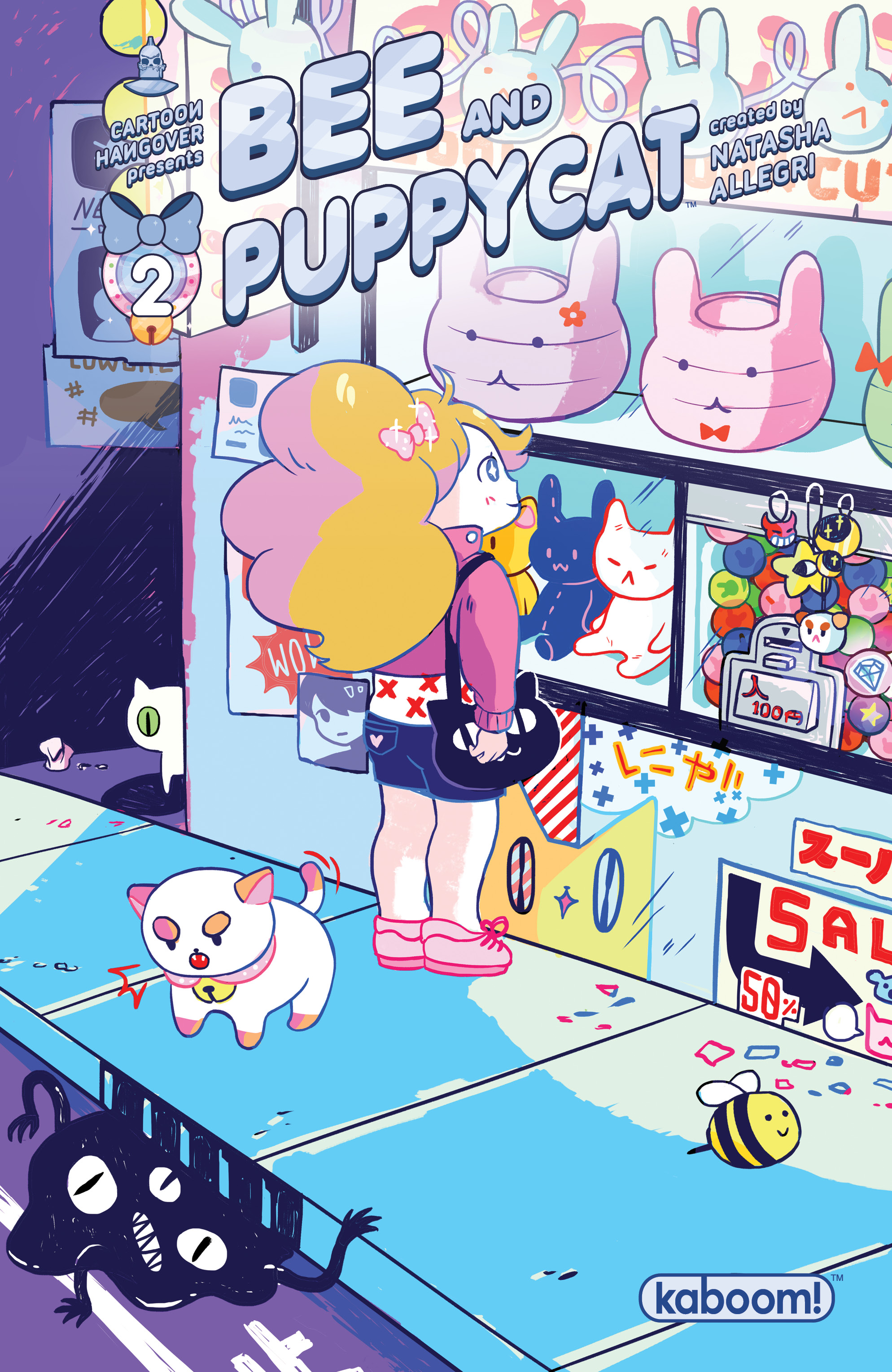 Bee and PuppyCat #2 2nd Printing