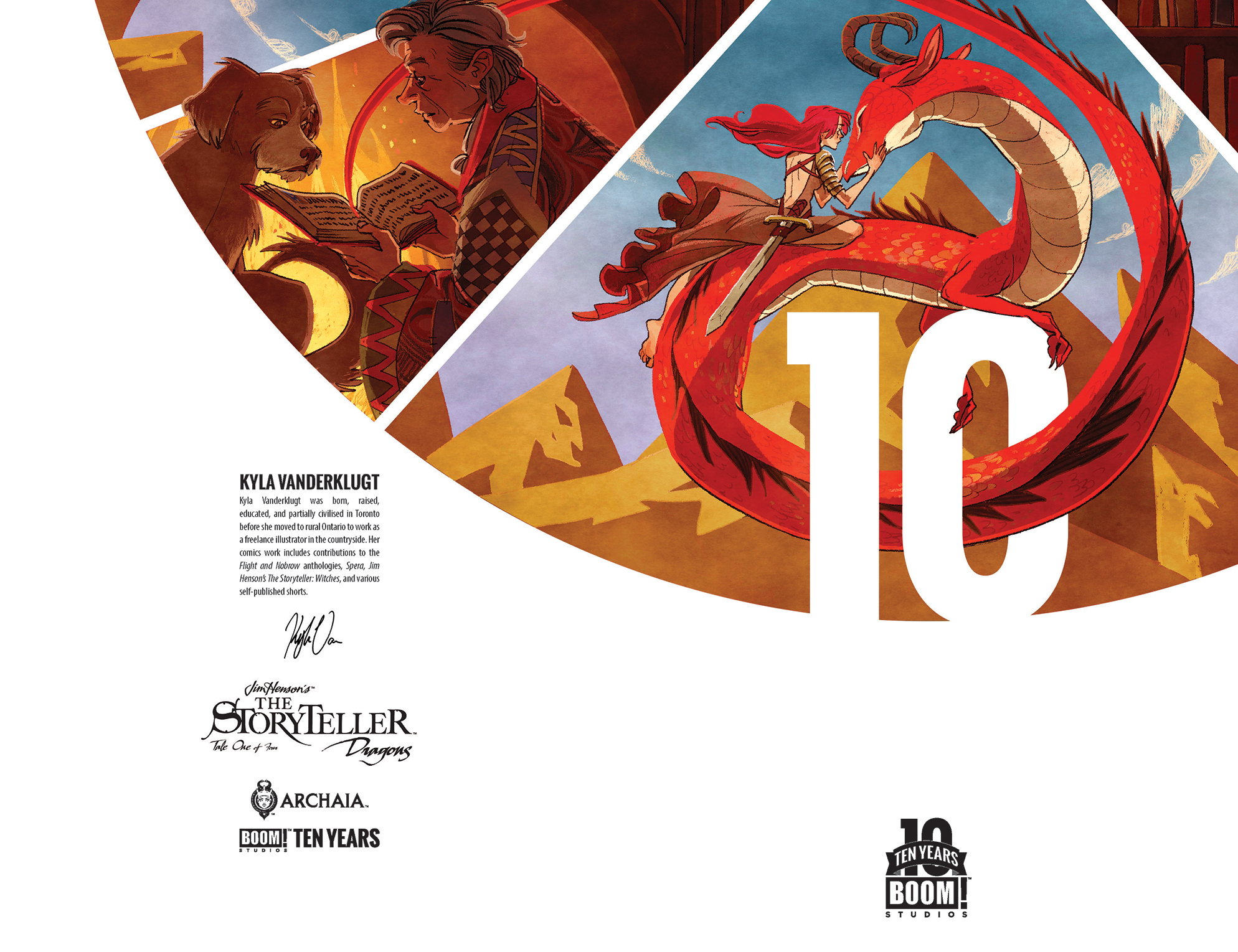 Jim Henson's The Storyteller: Dragons 10 Years Cover