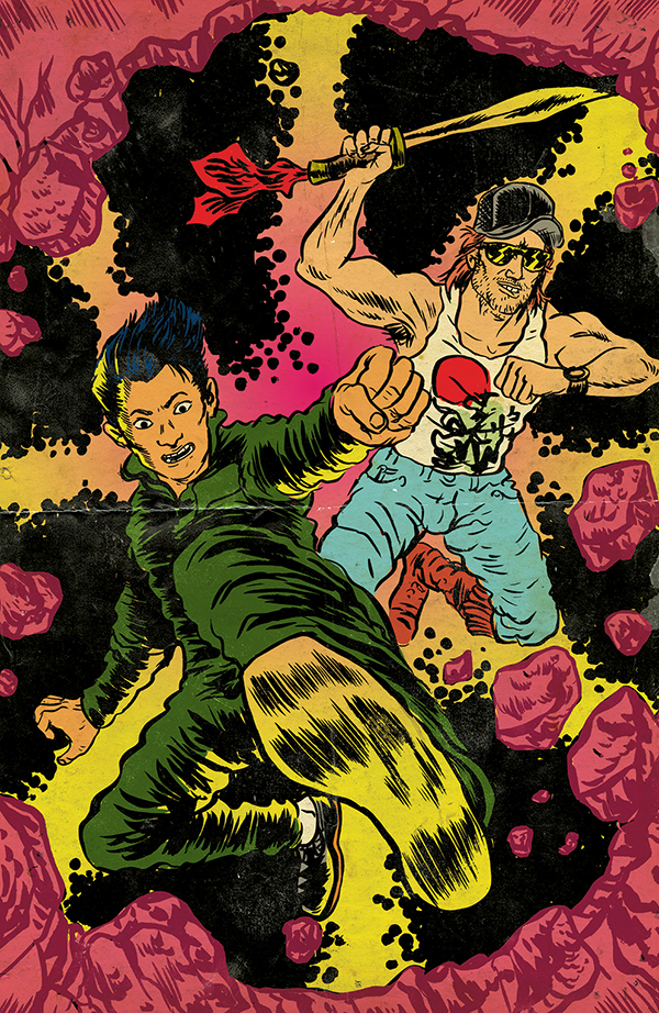 Big Trouble in Little China #6 Cover B