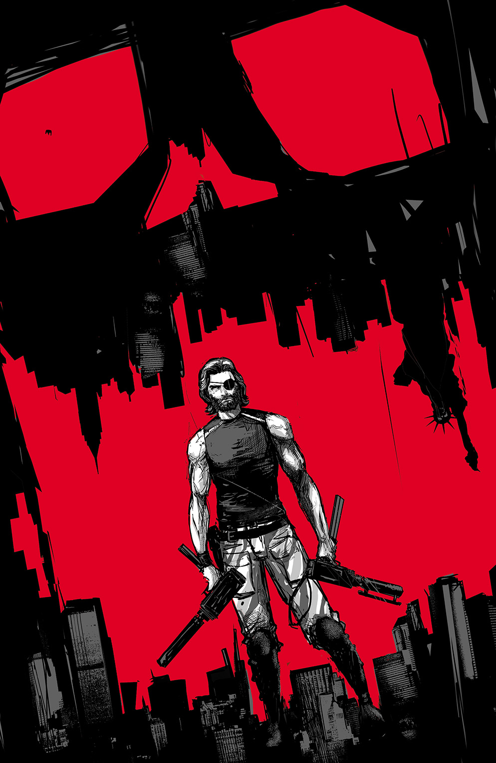 Escape from New York #1 Cover C