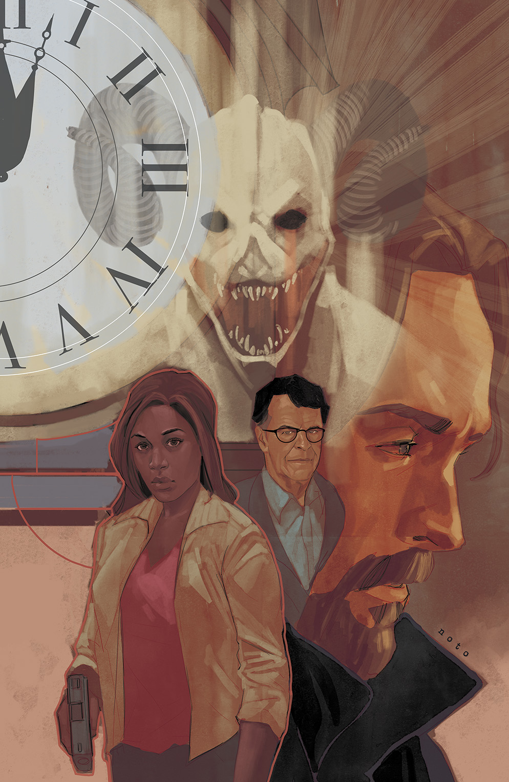 Sleepy Hollow #4 Cover A by Phil Noto