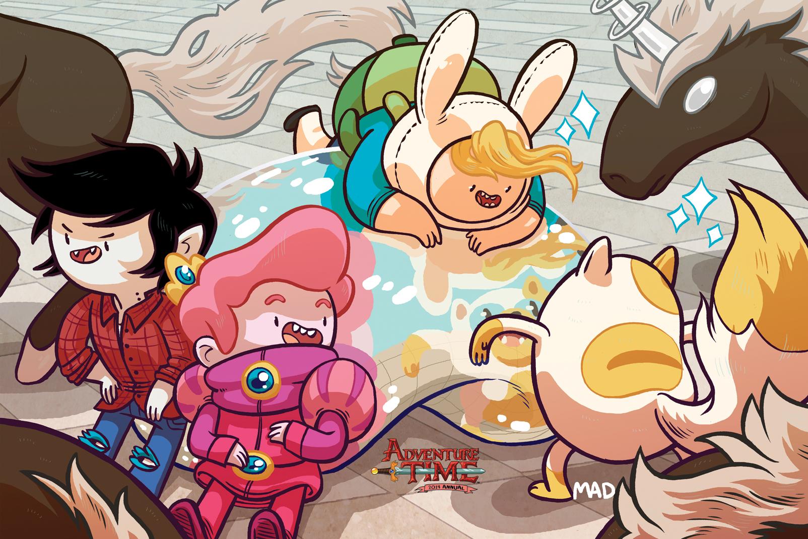 Adventure Time 2014 Annual #1 C2E2 Exclusive