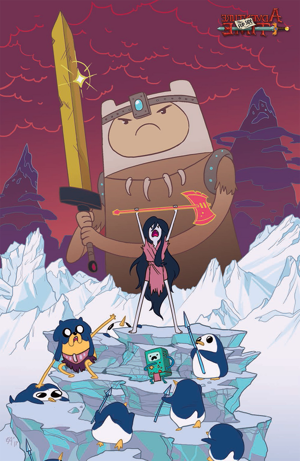 Adventure Time: The Flip Side #1 Cover C