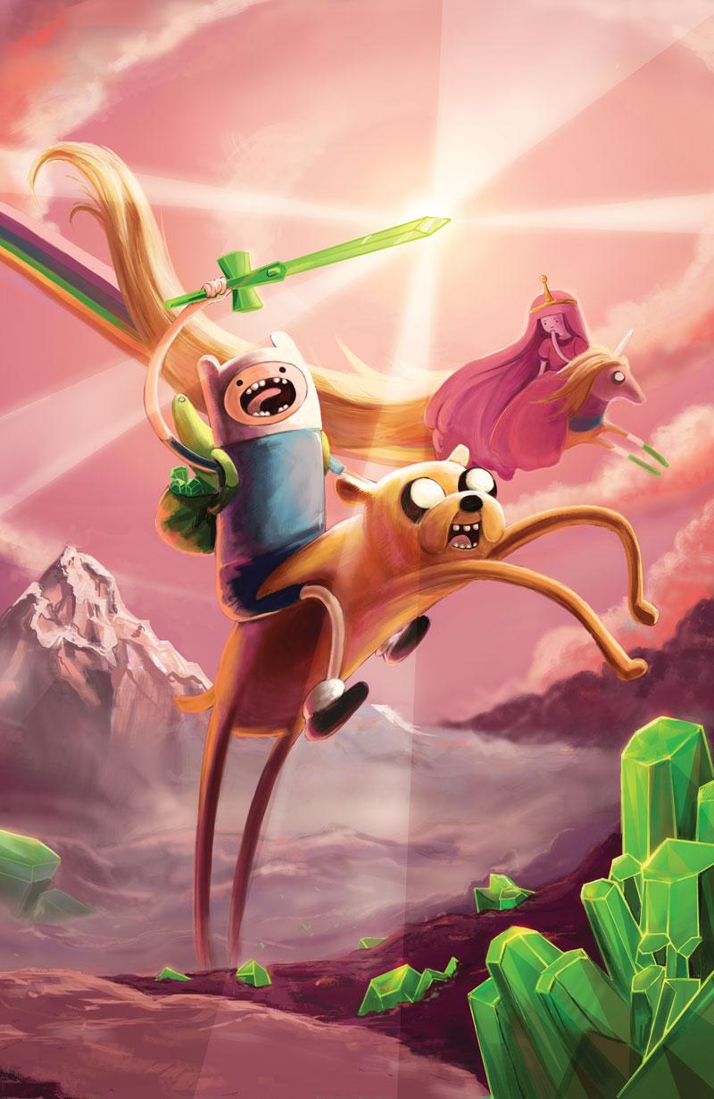 Adventure Time Vol 3 Mathematical Edition ECCC