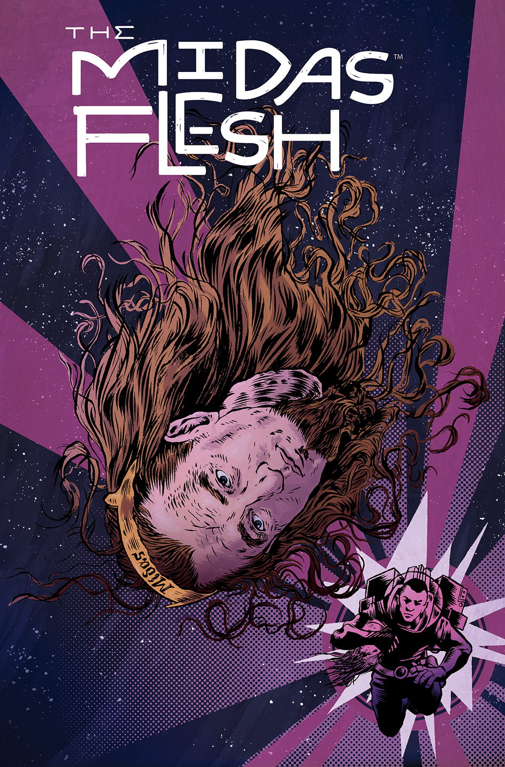 THE MIDAS FLESH #7 Cover A by John Keogh