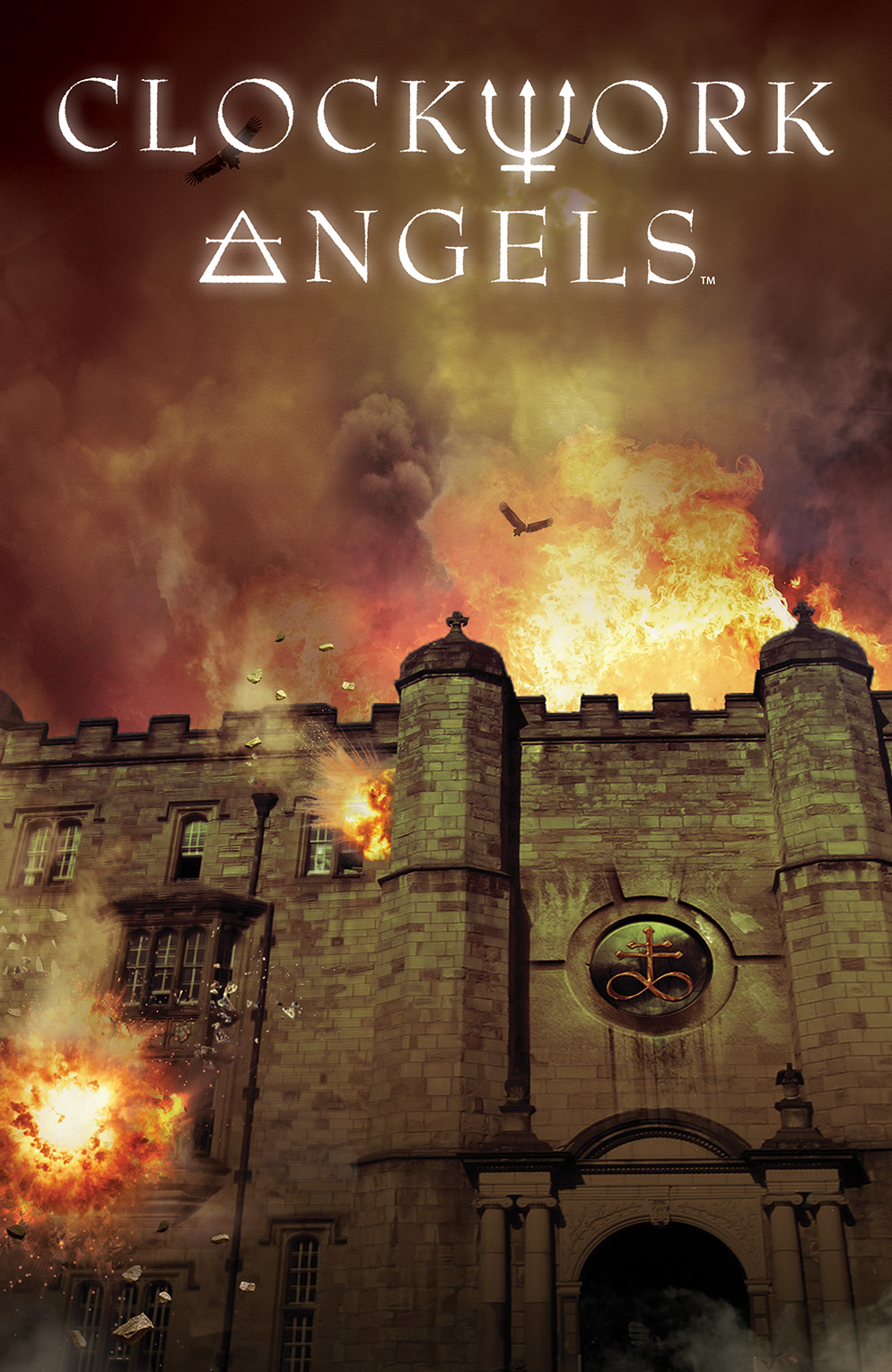 CLOCKWORK ANGELS #4 Cover by Hugh Syme