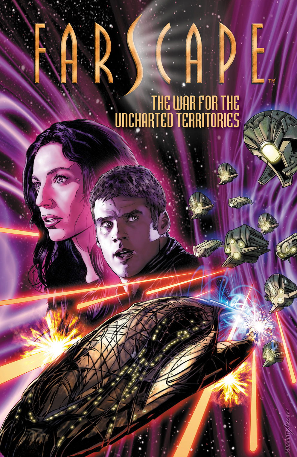 FARSCAPE VOL. 7 TP Cover by Joe Corroney