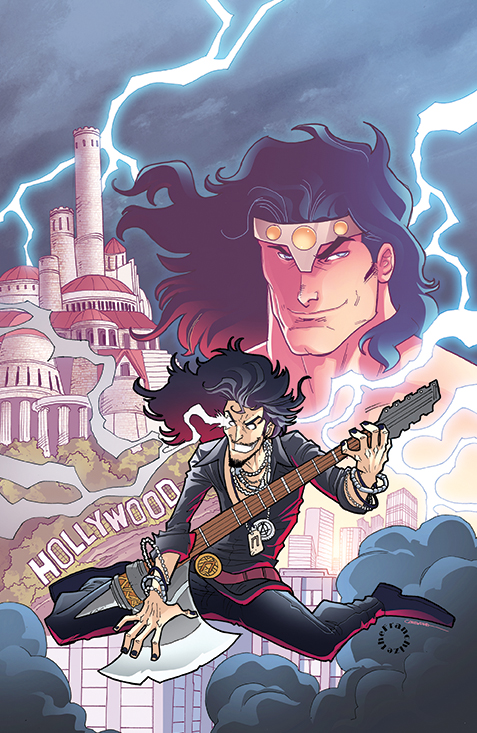 Loki: Ragnarok and Roll Cover B