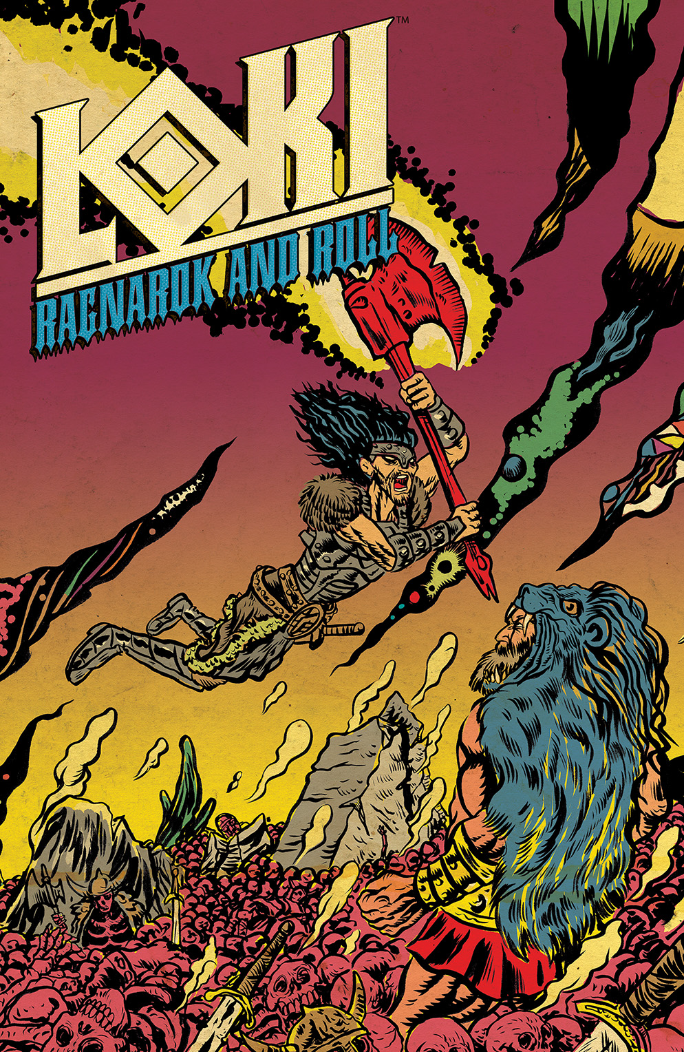 Loki: Ragnarok and Roll #3