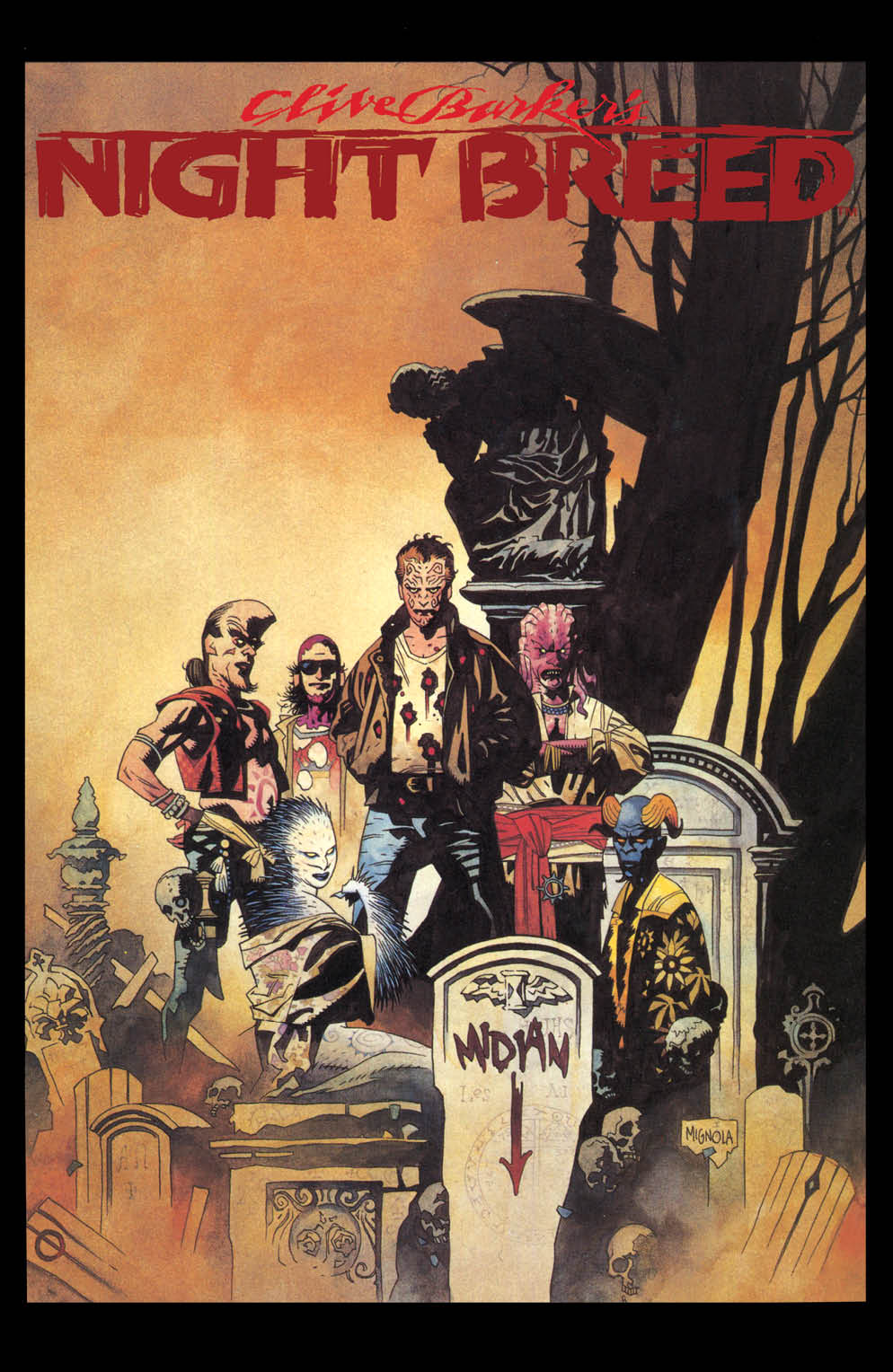 Clive Barker's Nightbreed #1 Cover C