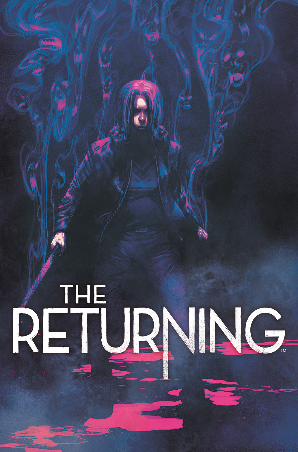 THE RETURNING #4 Cover by Frazer Irving