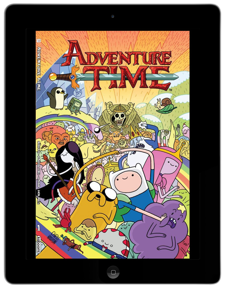 Image: Adventure Time on comiXology on the iPad