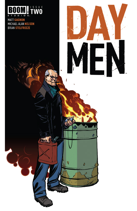 DAY MEN #2 2nd Printing Cover