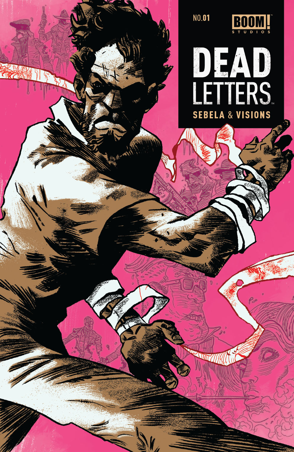 Dead Letters #1 2nd Printing Cover