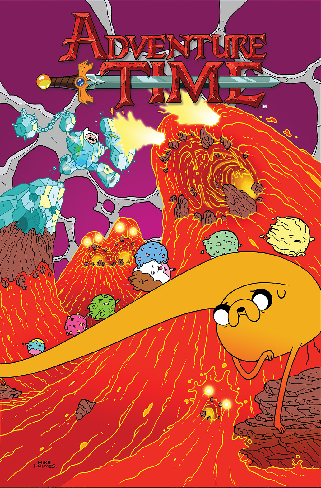 ADVENTURE TIME #29 Cover A by Mike Holmes
