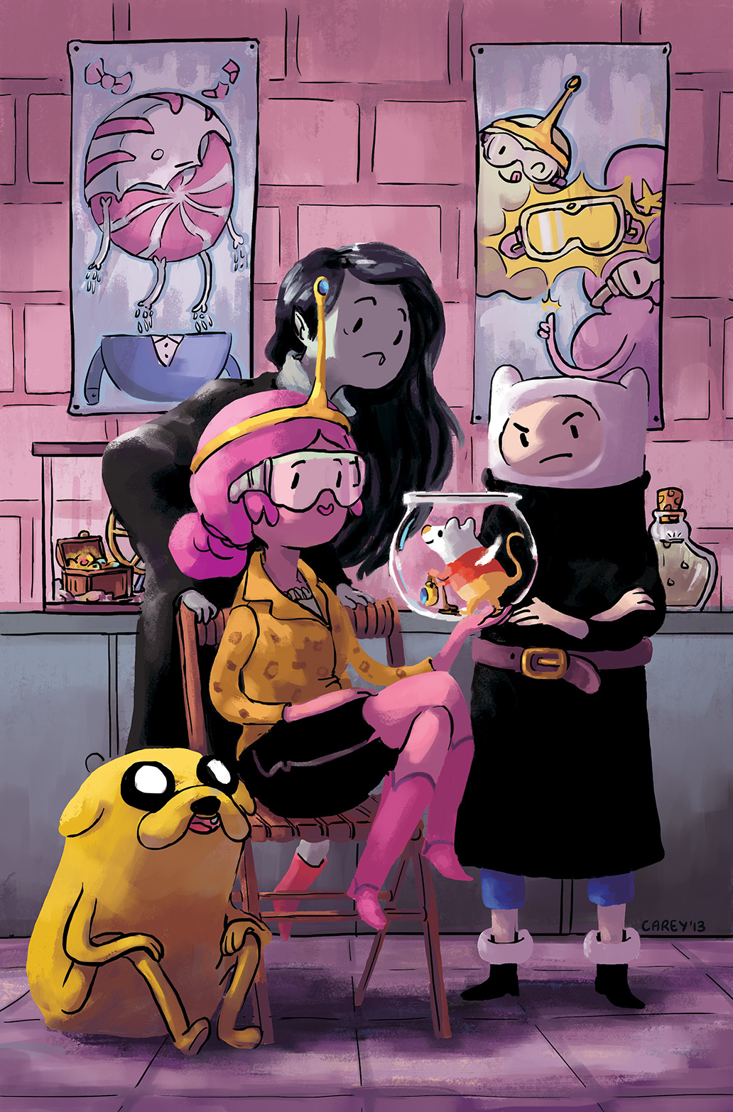 ADVENTURE TIME #29 Cover D by Carey Pietsch