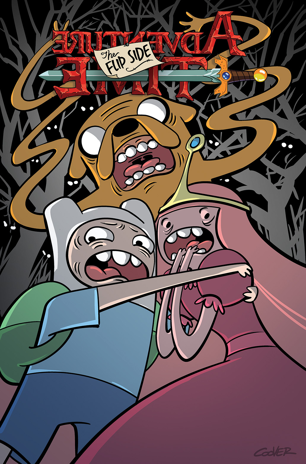 ADVENTURE TIME: THE FLIP SIDE #6 Cover A by Wook Jin Clark