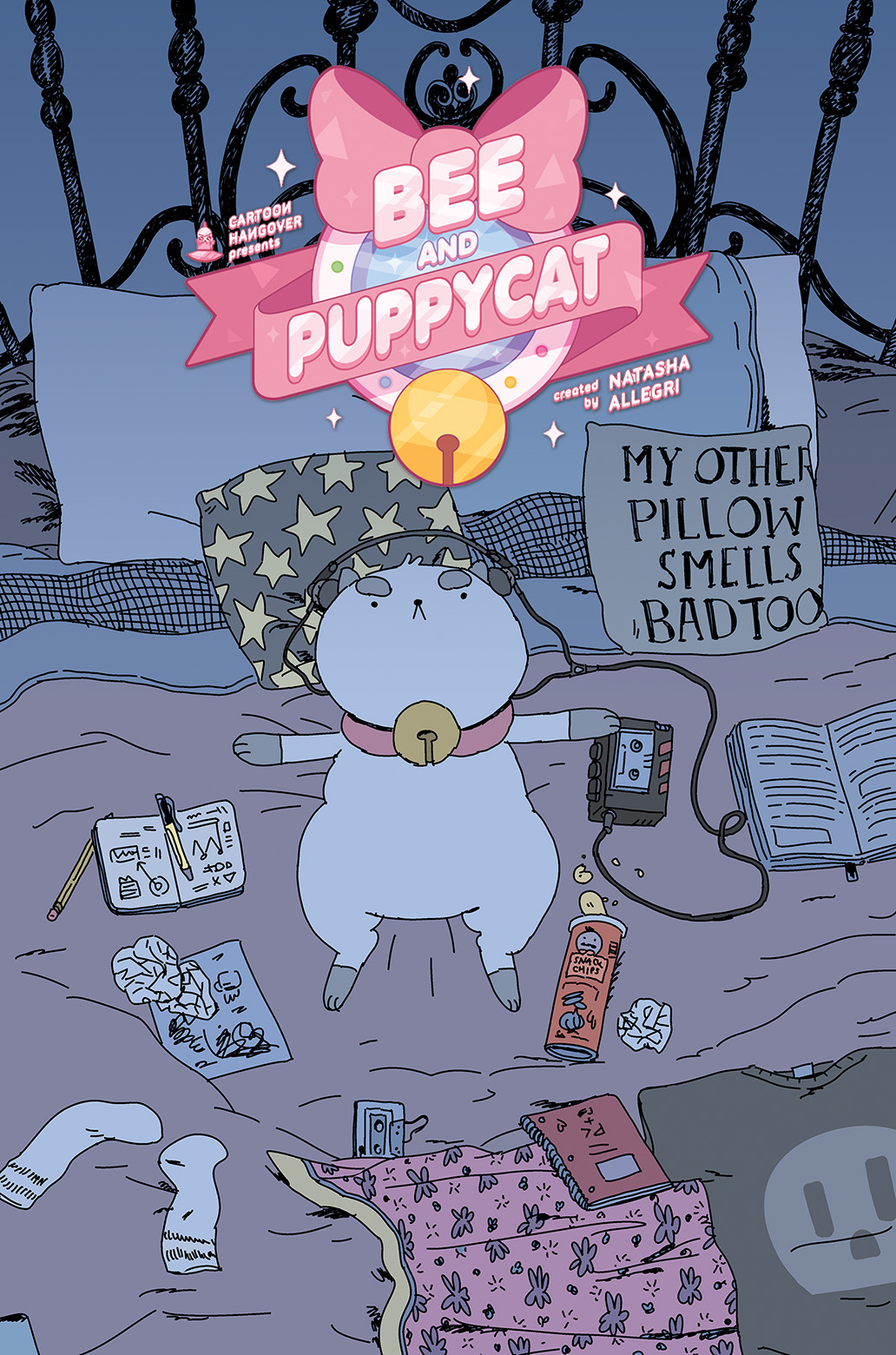 BEE AND PUPPYCAT #2 Cover B by Zac Gorman