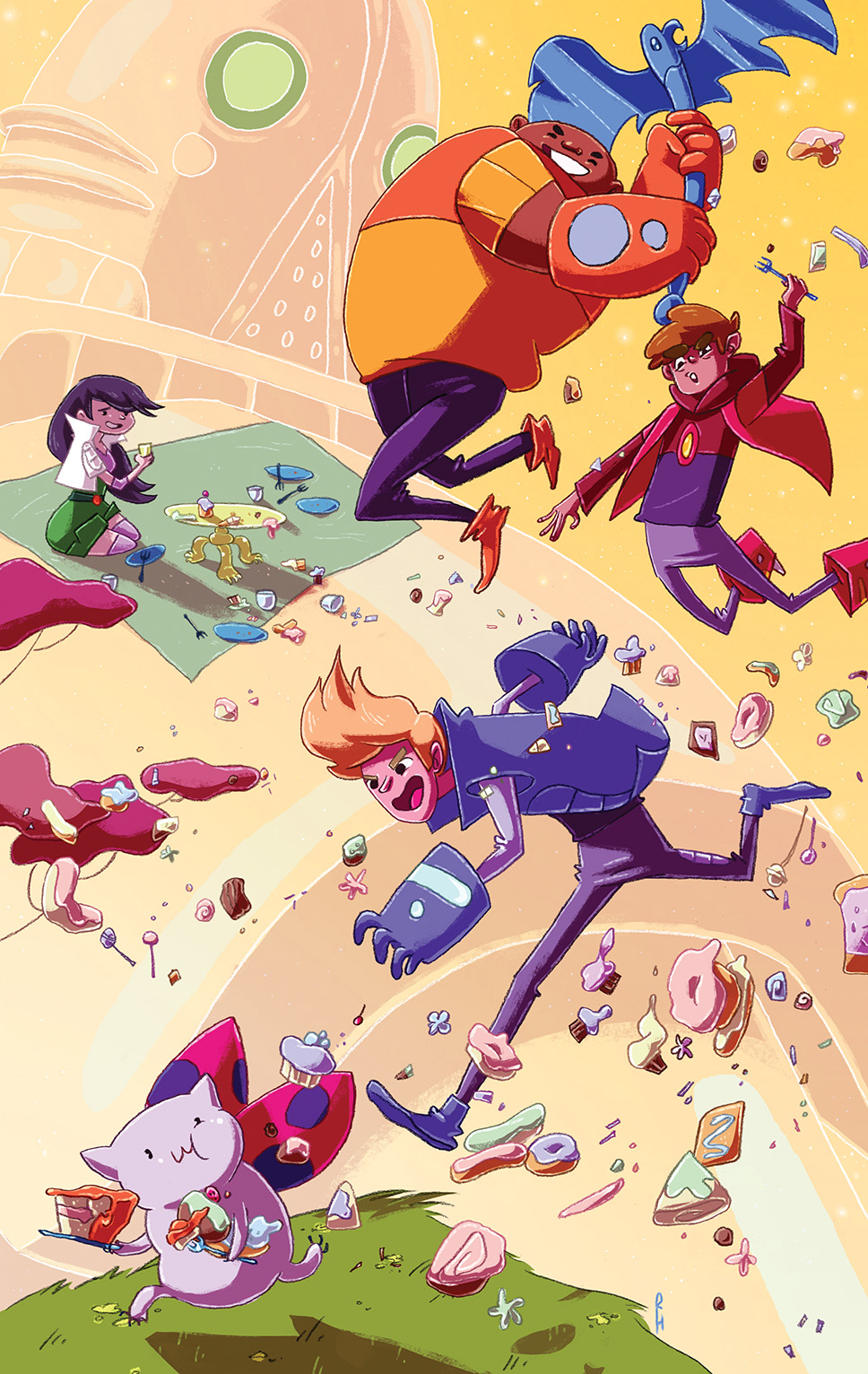 Bravest Warriors #21 Cover B