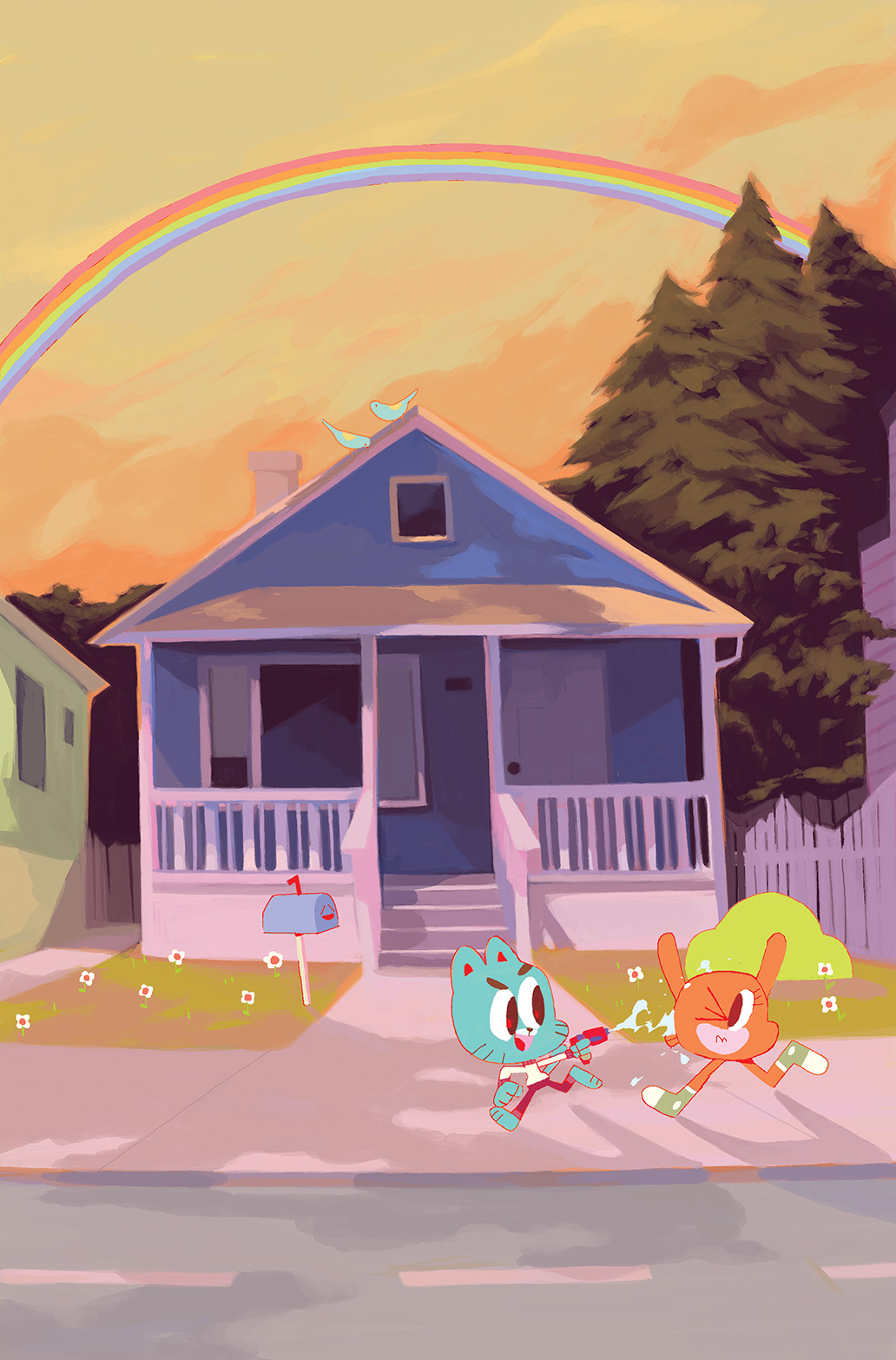 THE AMAZING WORLD OF GUMBALL #1 Cover E by Sonnye Lim