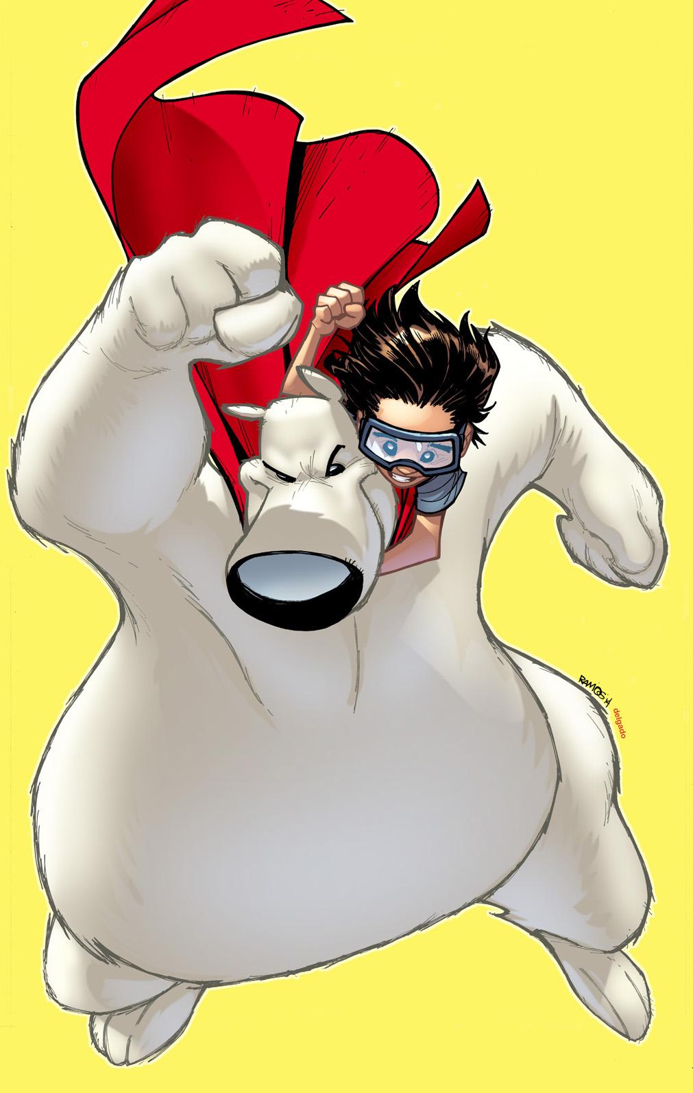 Herobear and the Kid: Saving Time Cover B