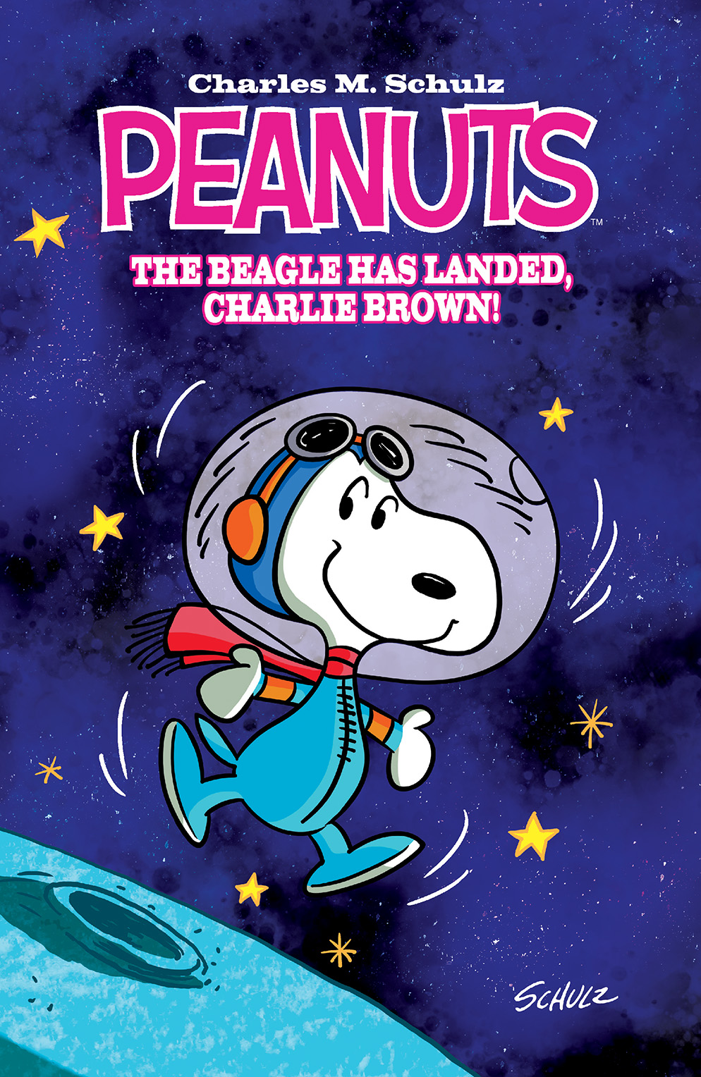 PEANUTS: THE BEAGLE HAS LANDED, CHARLIE BROWN OGN TP Cover by Bob Scott