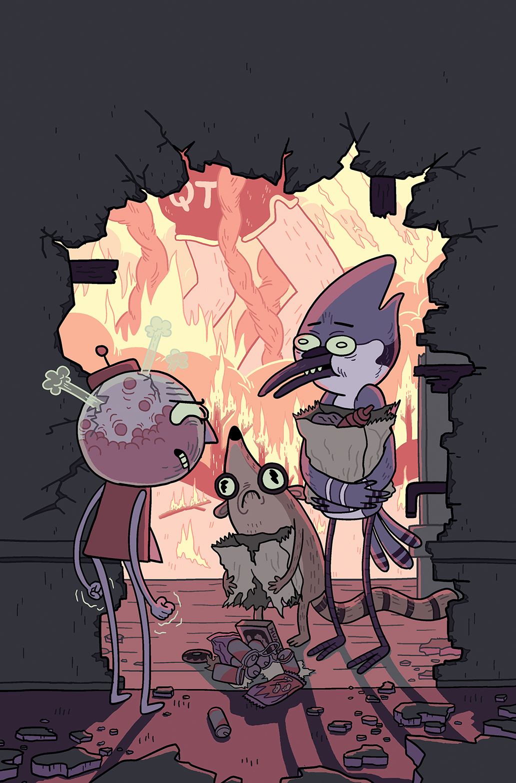 Regular Show 2014 Annual #1 Cover B
