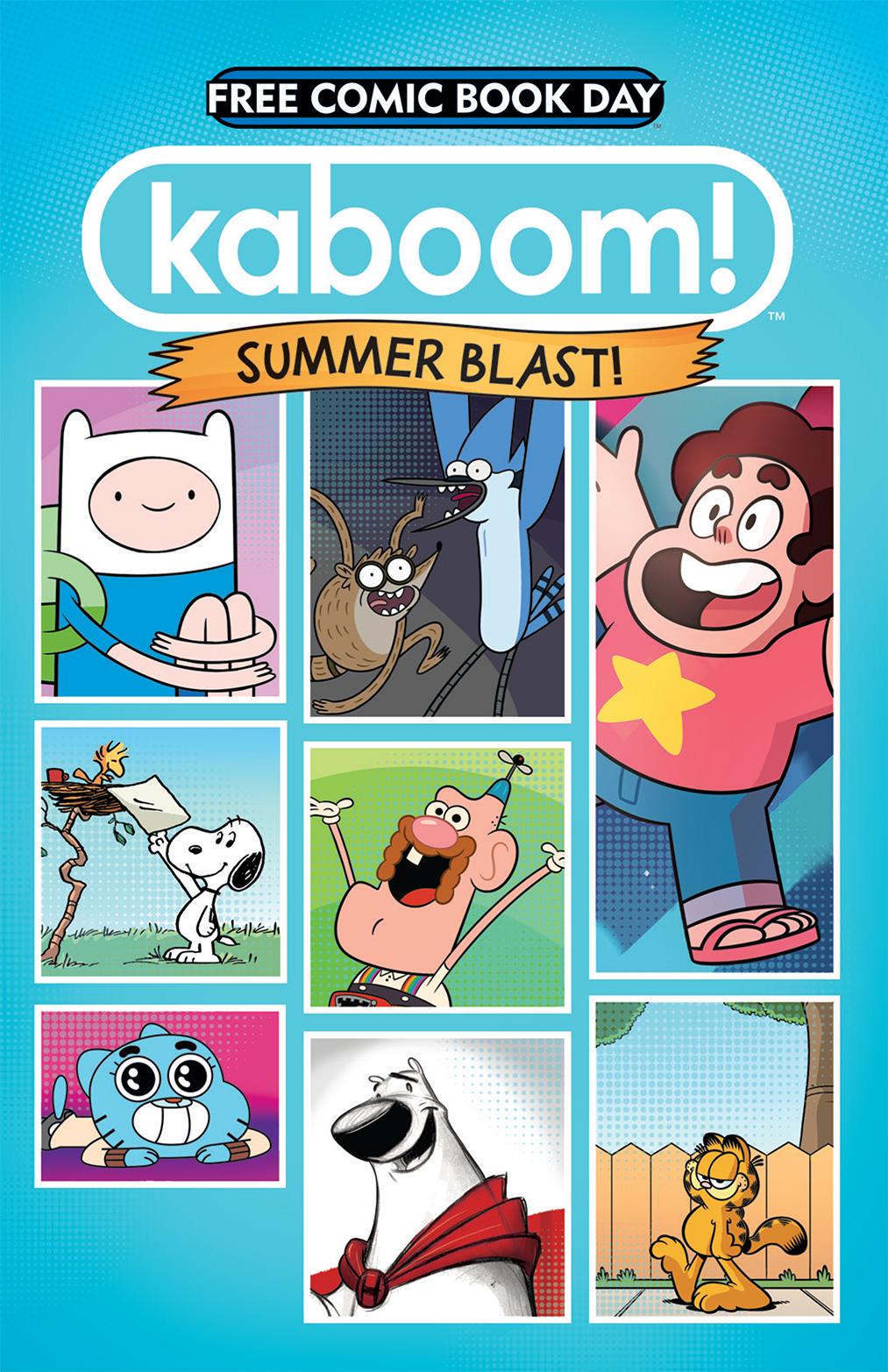 KaBOOM! Summer Blast FCBD 2014 Cover