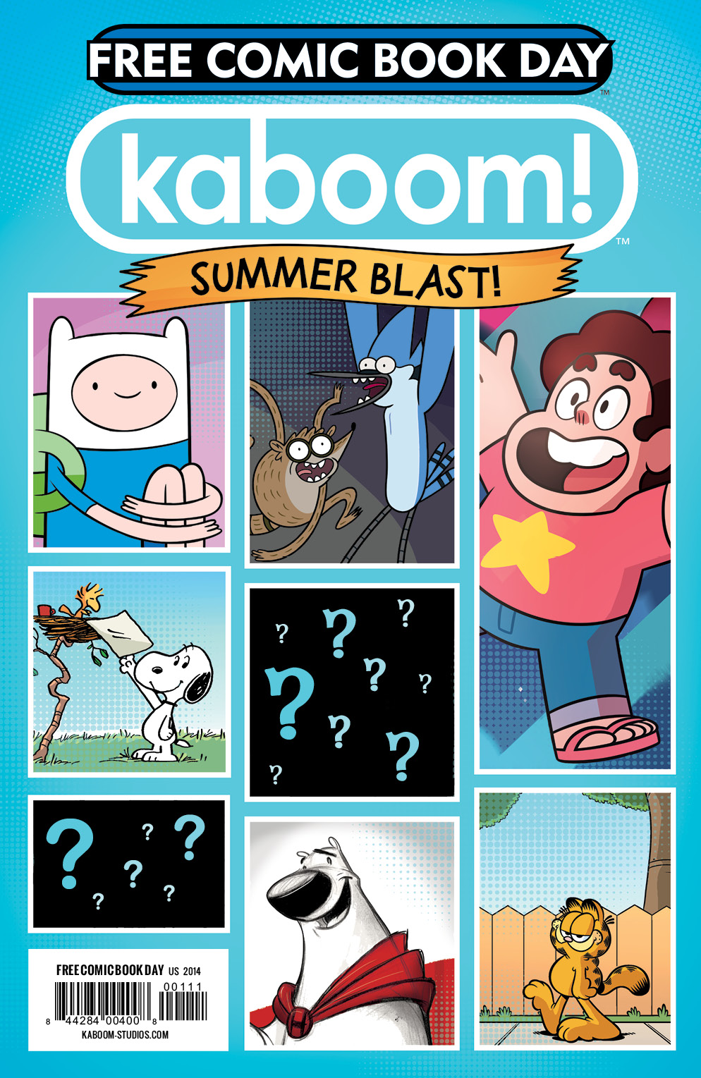 2014 KaBOOM! Free Comic Book Day Cover