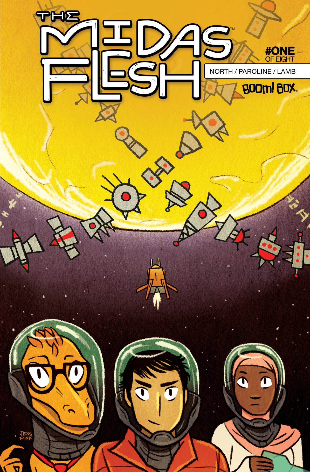 The Midas Flesh #1, 2nd Print Cover