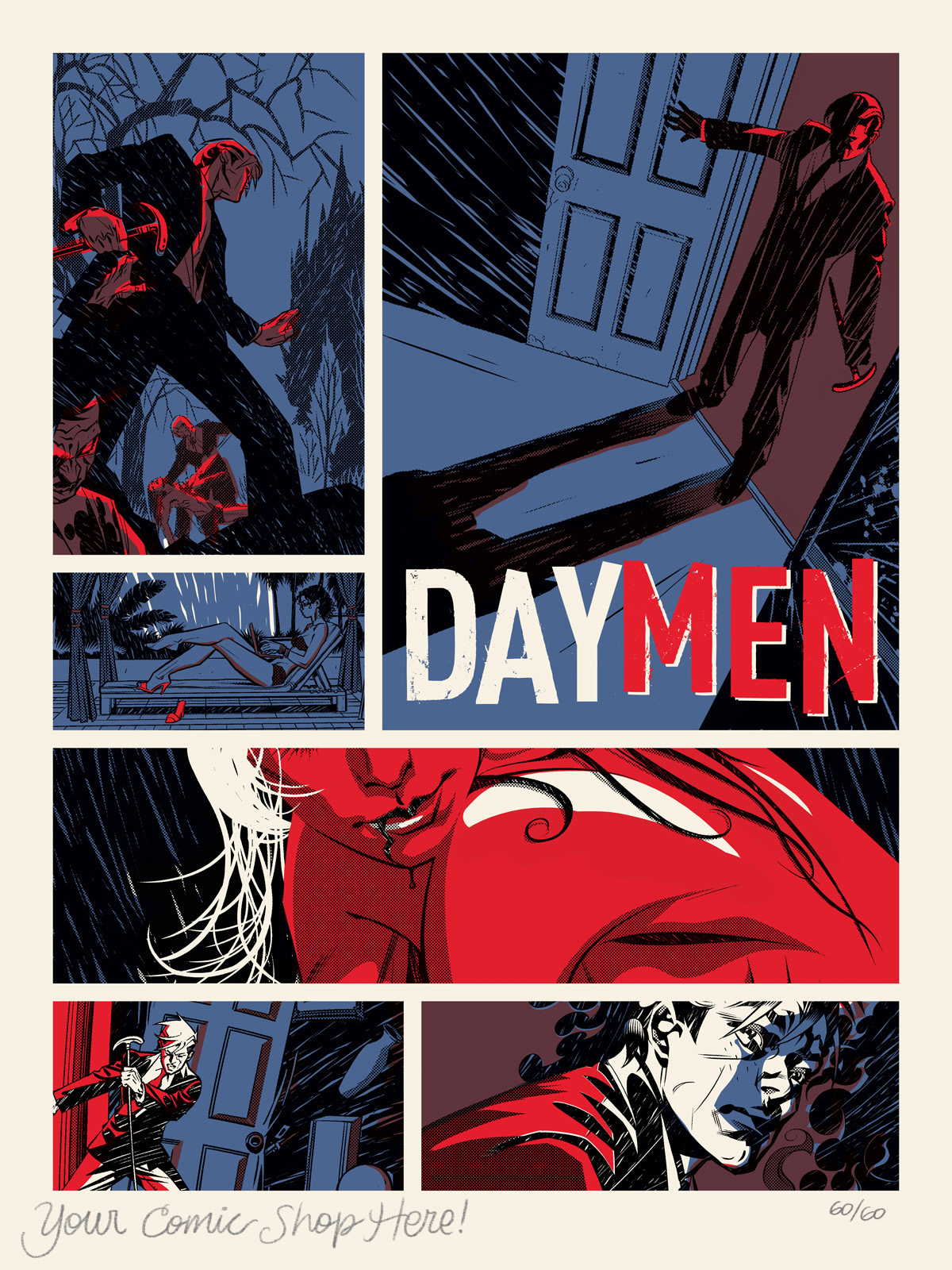 Day Men Promo Print