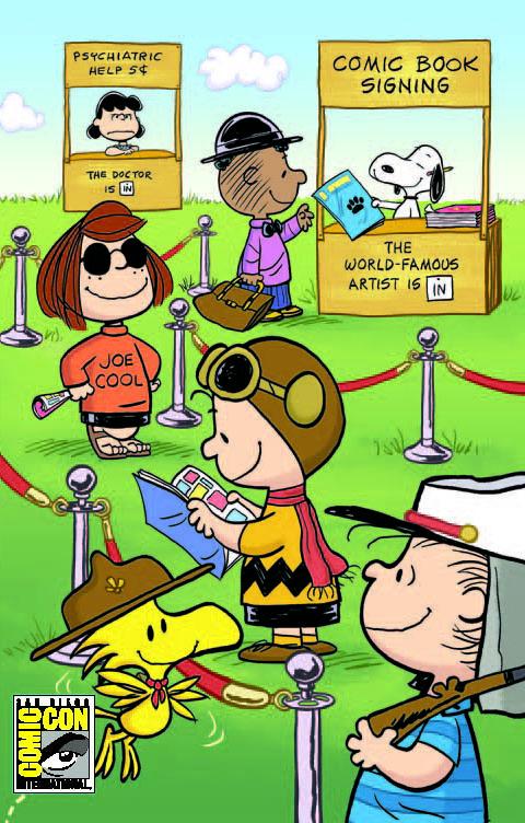 Peanuts 1 SDCC CVR SDCC12: Boom! Studios: Booth #2743