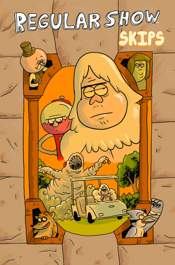 Regular Show: Skips #1 Cover B