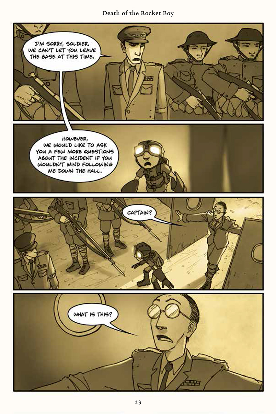 Rust Vol. 3 Preview Pg. 1