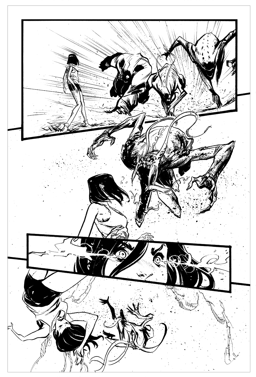 Filipe Andrade Page from Suicide Risk #14