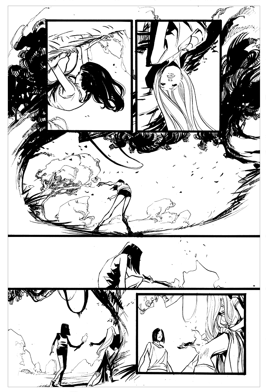 Filipe Andrade page from Suicide Risk #14 - 2