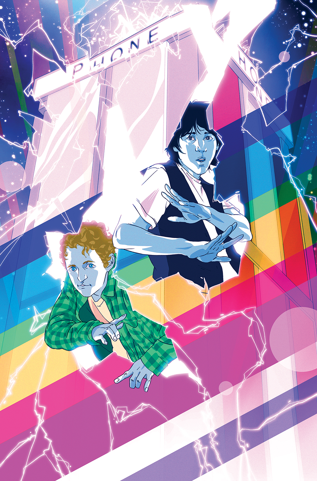 Bill & Ted's Most Triumphant Return #1 Variant Cover by Goñi Montes