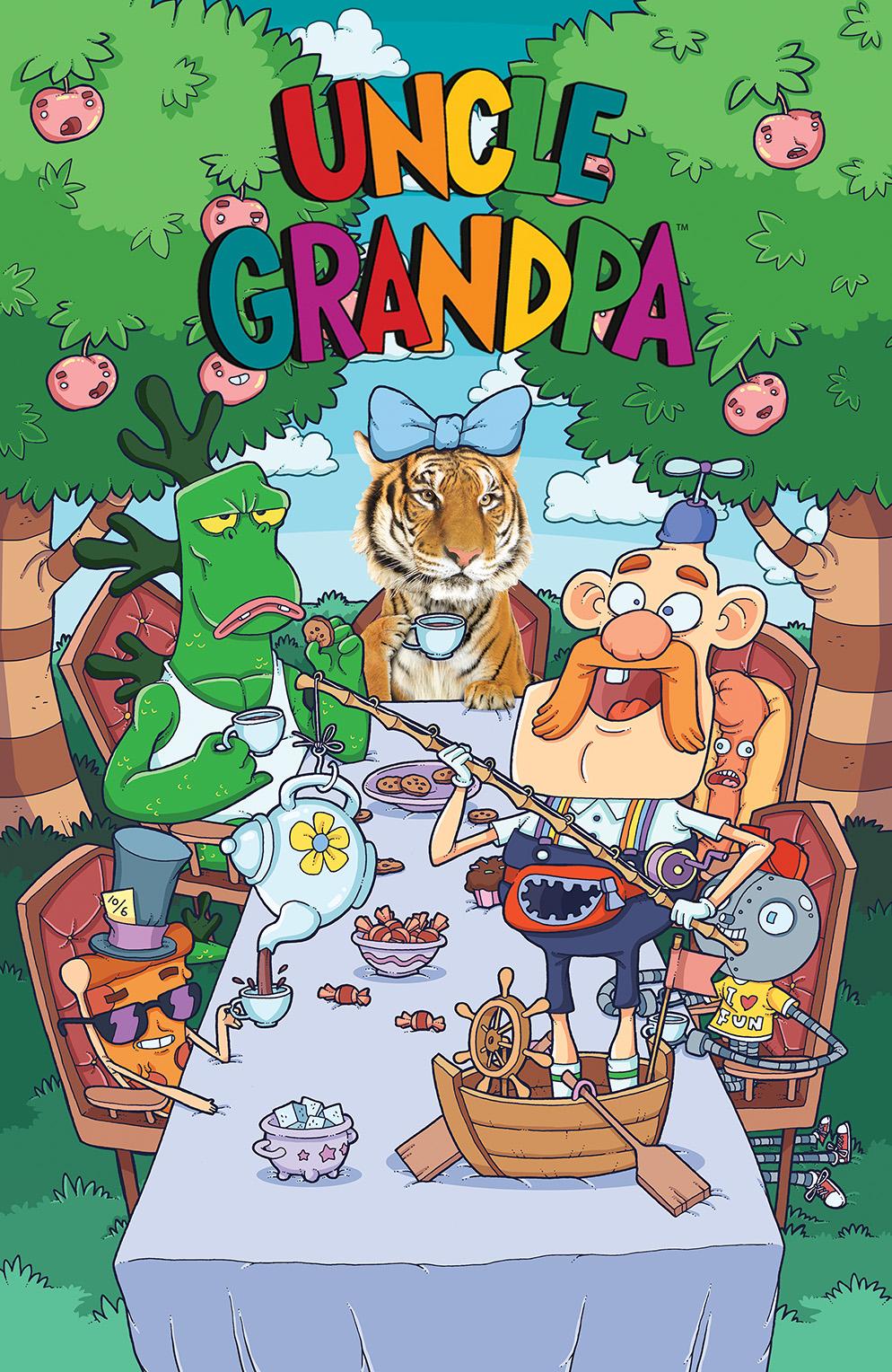 Uncle Grandpa #2 Cover B