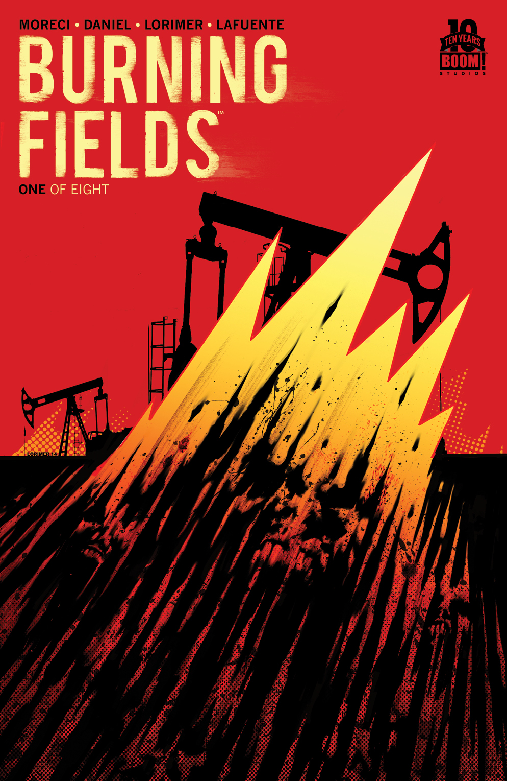 Burning Fields #1 2nd Printing
