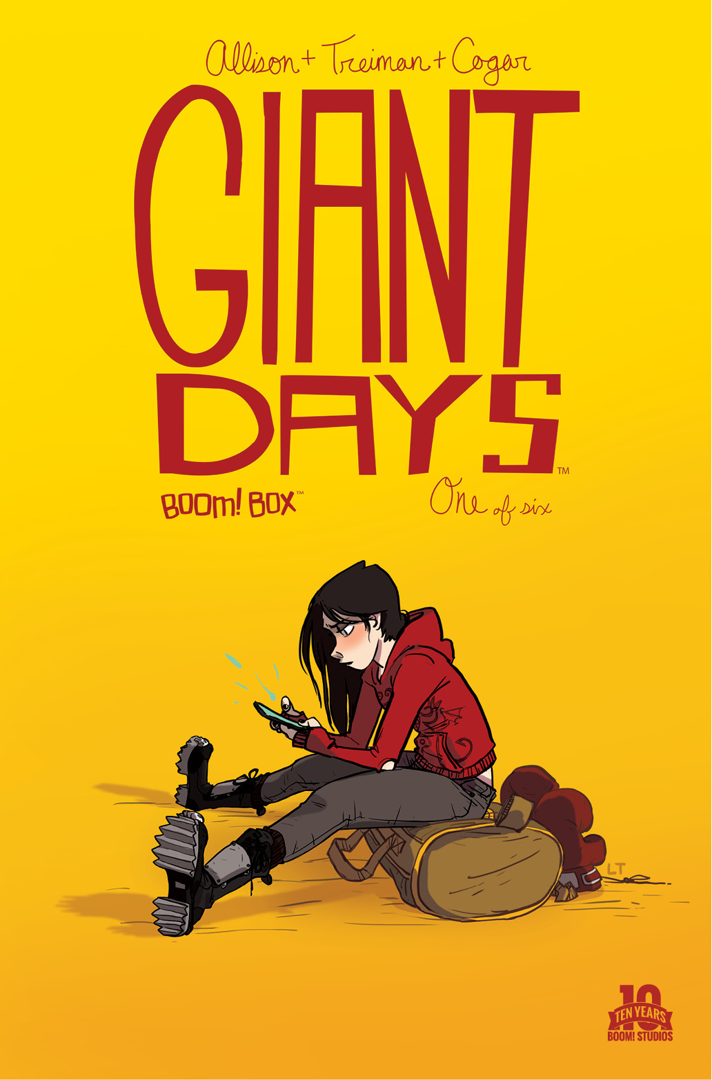 Giant Days #1 Main Cover