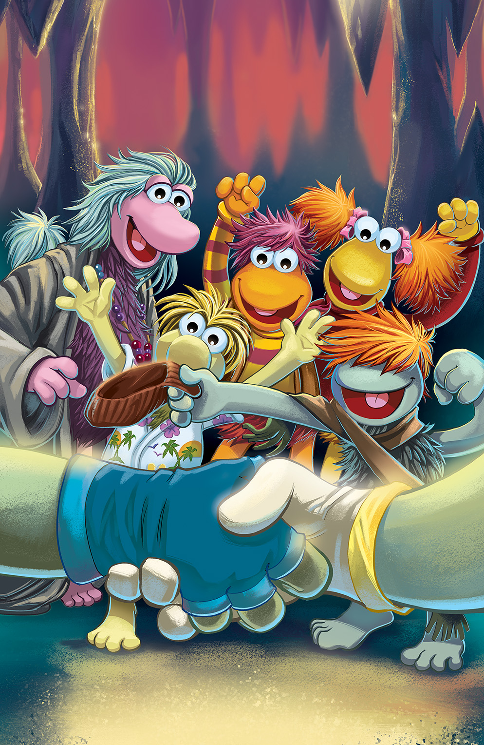 Fraggle Rock: Journey to the Everspring #4 Cover by Jake Myler