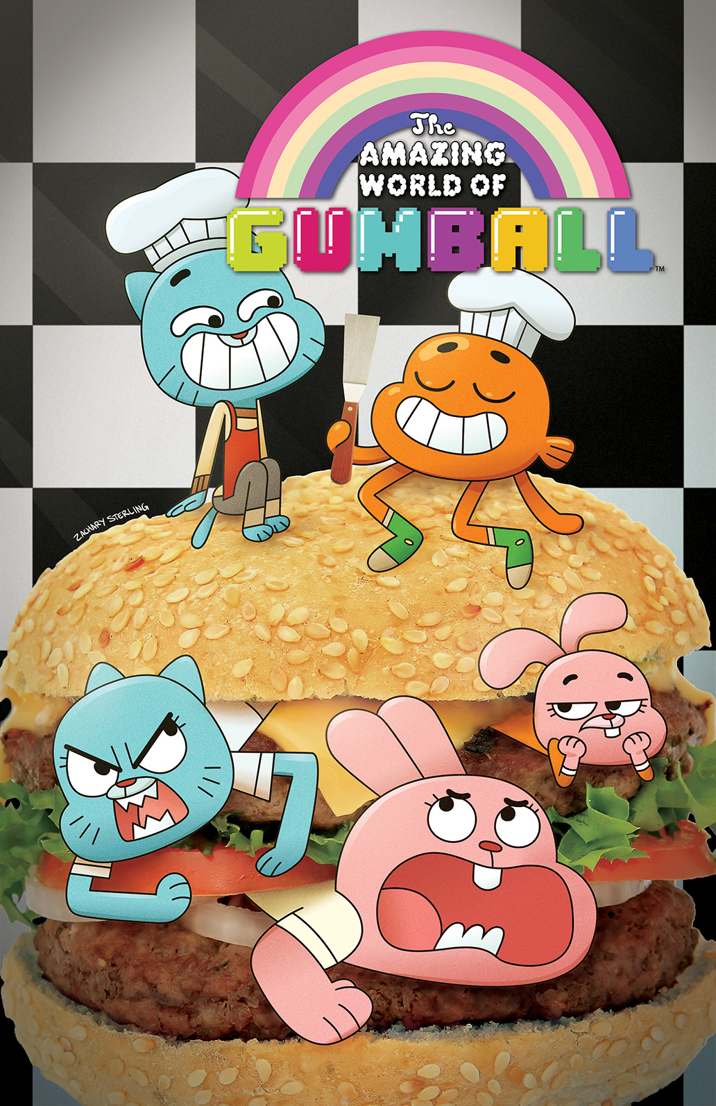 The Amazing World of Gumball #1 Cover B