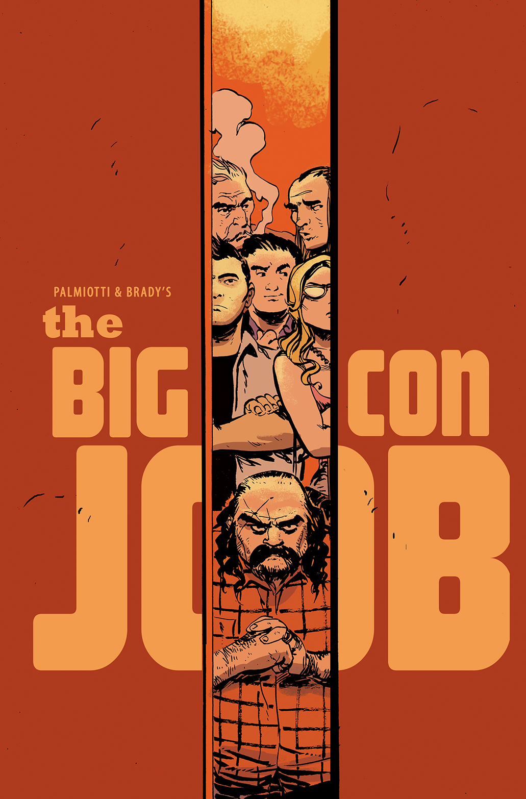 Palmiotti & Brady's The Big Con Job #1 Incentive Cover