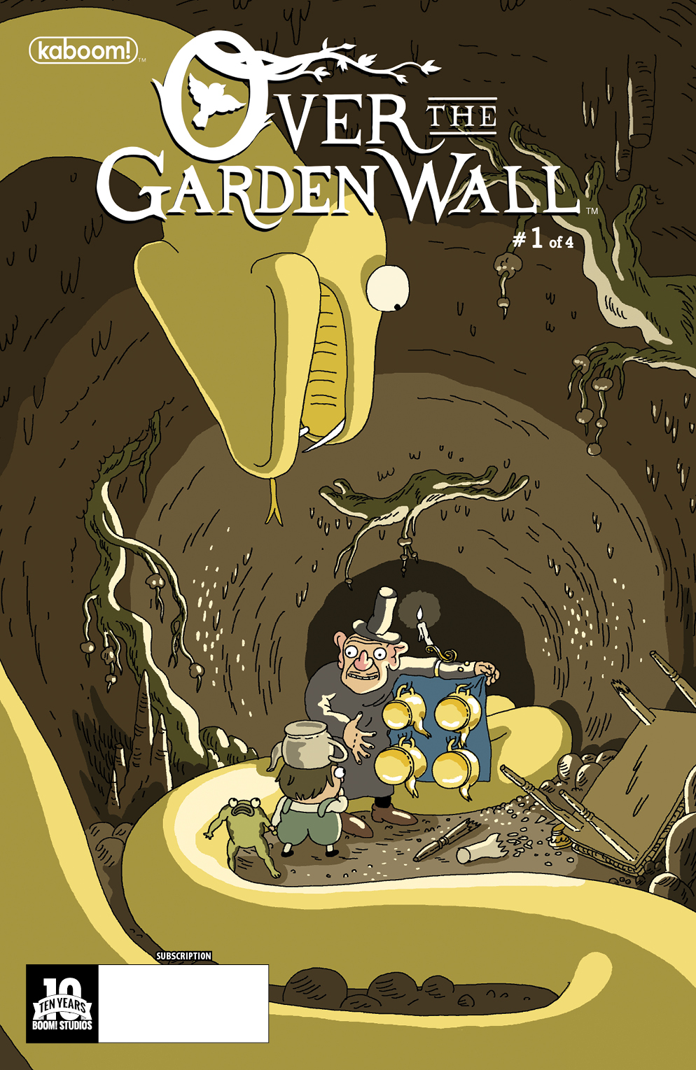 Over the Garden Wall #1 Subscription Cover