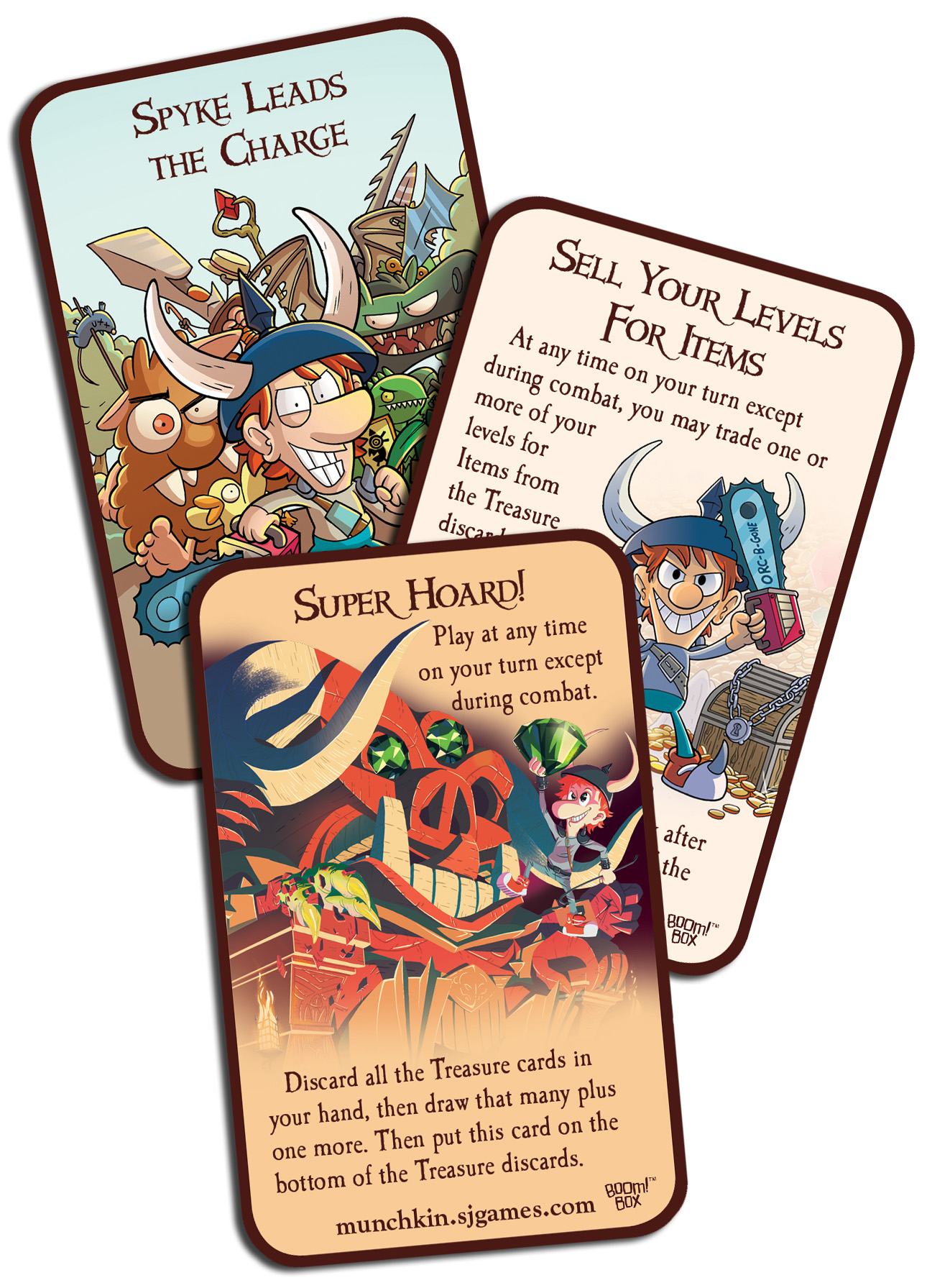 Exclusive Munchkin Cards