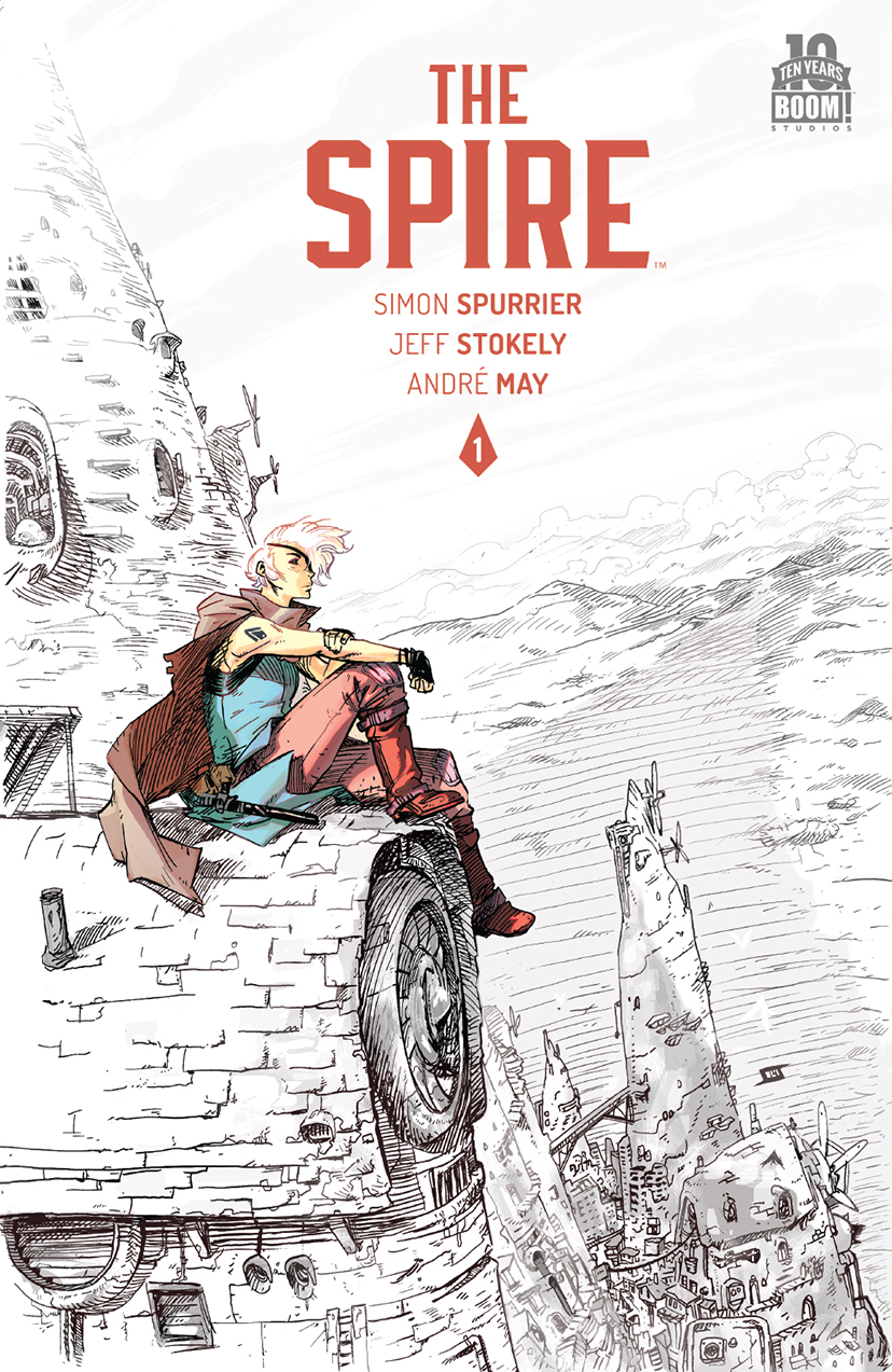 The Spire #1 2nd Print Cover