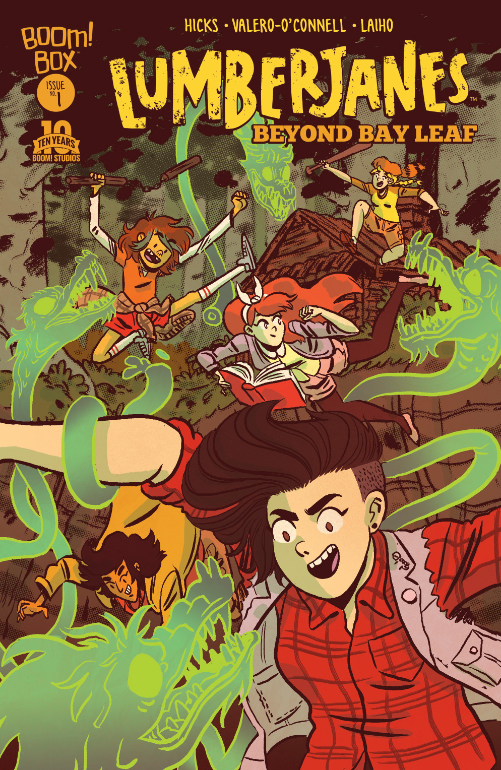Lumberjanes: Beyond Bay Leaf Main Cover