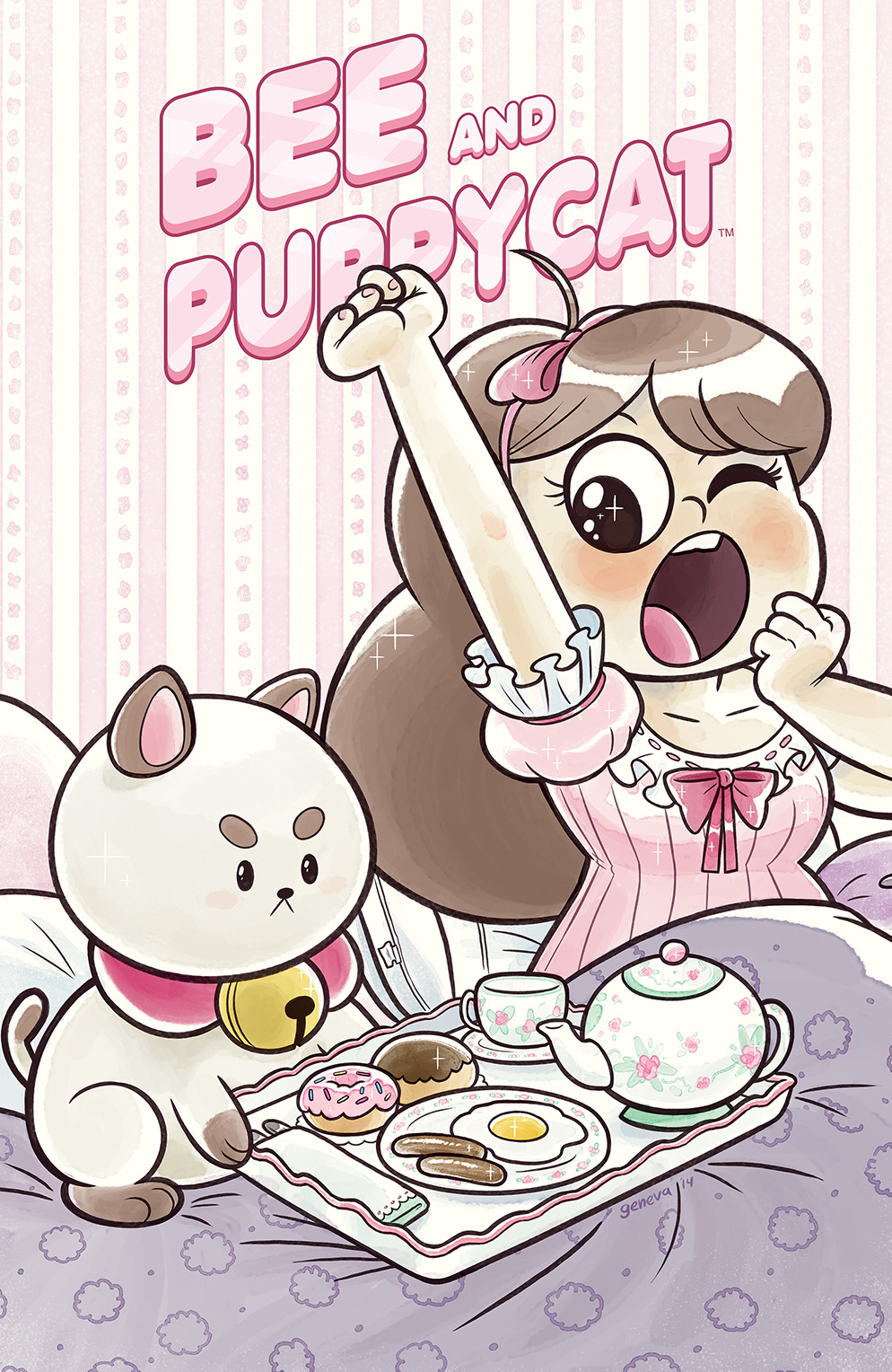 Bee and PuppyCat #7 Cover B