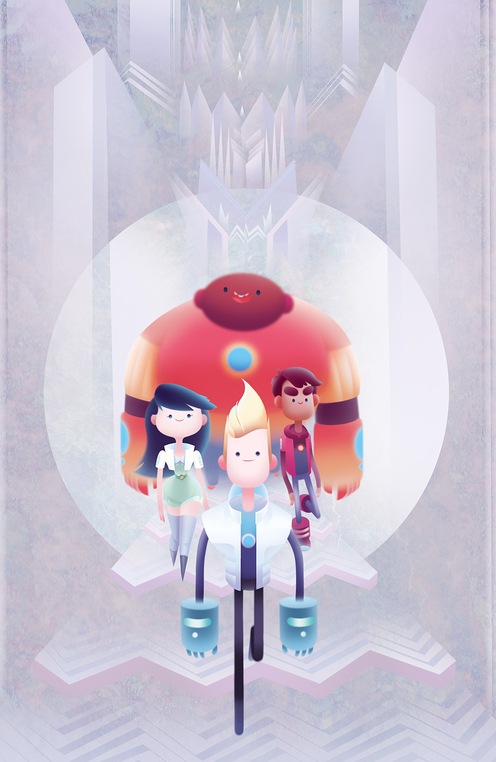 Bravest Warriors #28 Cover B by Priscilla Wong