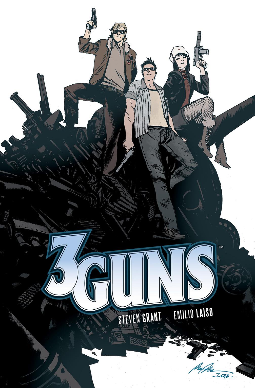 3 GUNS TP Cover